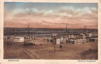 Ansichtkaart Zandvoort Strand en Zeegezicht HC1317