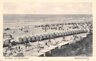 Ansichtkaart Zandvoort Groeten uit Zandvoort Badinrichting Strand HC1318