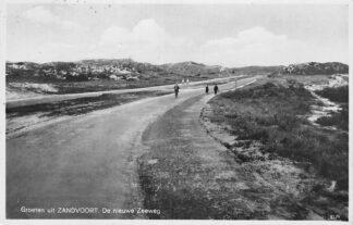 Ansichtkaart Zandvoort Groeten uit Zandvoort De Nieuwe Zeeweg  1932 HC1319