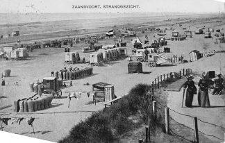 Ansichtkaart Zandvoort Strand gezicht 1907 HC1326