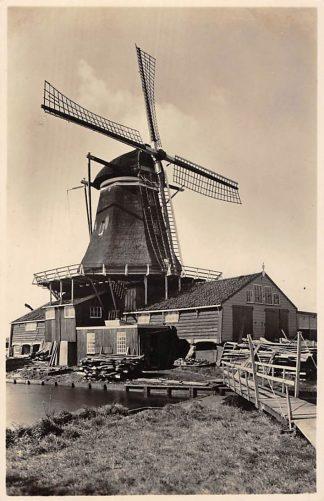 Ansichtkaart Leiden Houtzaagmolen Molens HC133