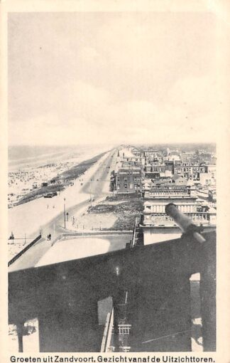 Ansichtkaart Zandvoort Groeten uit Gezicht vanaf de Uitzichttoren HC1332