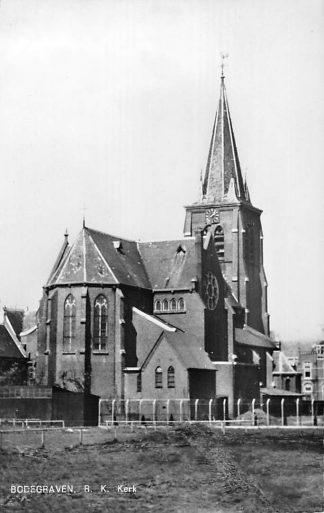 Ansichtkaart Bodegraven 1962 R.K. Kerk HC1340