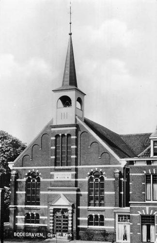 Ansichtkaart Bodegraven 1967 Gereformeerde Kerk HC1341