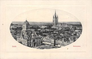Ansichtkaart Delft Panorama HC1350