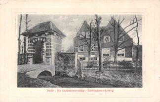 Ansichtkaart Delft 1913 De Hammenwoning Rotterdamscheweg HC1351
