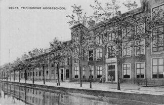 Ansichtkaart Delft Technische Hooge school HC1352