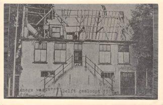 Ansichtkaart Delft Forte Fotoreproductie Manege Westvest gesloopt 1967 HC1356