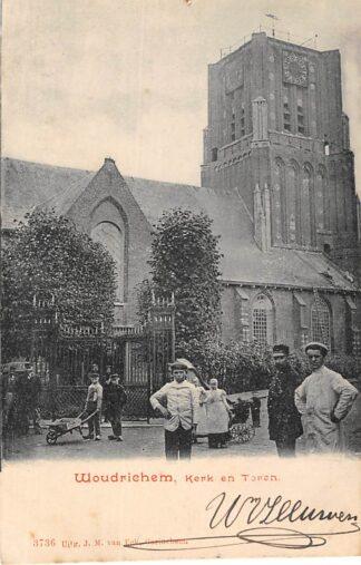 Ansichtkaart Woudrichem Kerk en Toren HC137