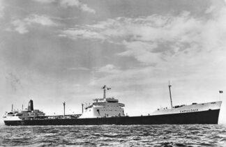 Ansichtkaart s.s. Capulonix Shell Tankers Scheepvaart Schepen Rotterdam HC1380