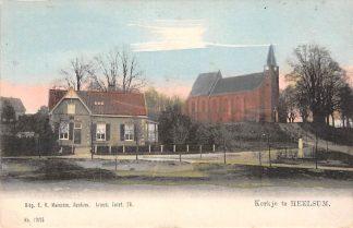 Ansichtkaart Heelsum Kerk HC1394