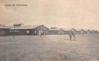 Ansichtkaart Kamp bij Waalsdorp 1916 Militair verzonden 1916 's-Gravenhage Den Haag HC1397