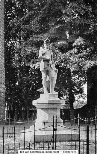 Ansichtkaart Barneveld Jan van Schaffelaar - Monument 1909 HC1410