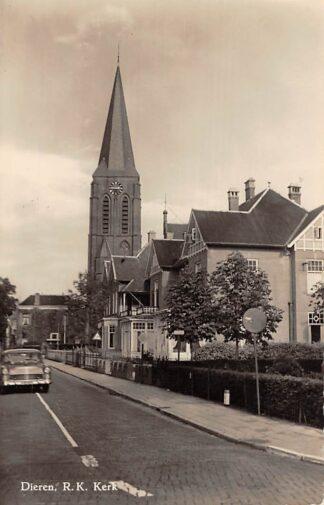 Ansichtkaart Dieren (GD) R.K. Kerk Auto HC1411