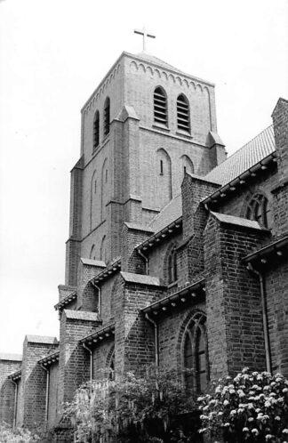 Ansichtkaart Tiel Mimosa fotokaart  St. Dominicus kerk 1940 - 1965 HC1417