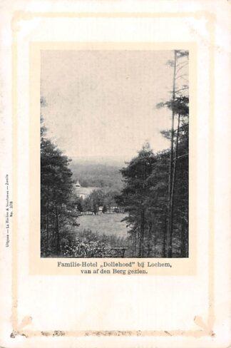 Ansichtkaart Lochem Familie - Hotel Dollehoed van af den Berg gezien HC1420