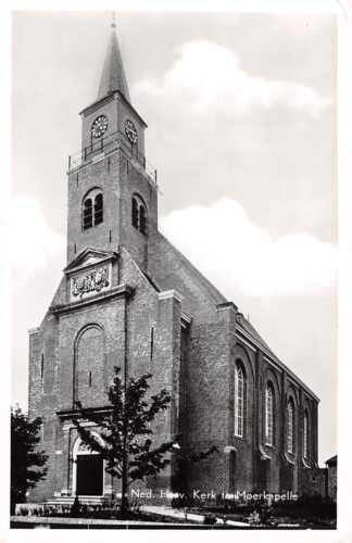 Ansichtkaart Moerkapelle Ned. Hervormde Kerk 1961 HC1425