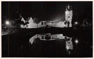 Ansichtkaart Zierikzee bij Nacht Fotokaart R. ten Kate HC1437
