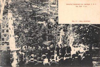 Ansichtkaart Apeldoorn Onthulling Gedenknaald der Leerlingen H.B.S. Kon. Park 't Loo HC1449