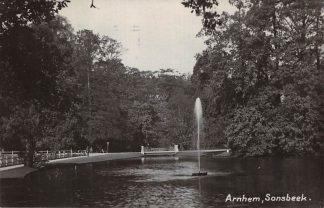 Ansichtkaart Arnhem 1930 Sonsbeek Newo fotokaart HC1453