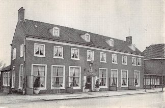 Ansichtkaart Elst (GD) Hotel Café Restaurant De Vereniging Dorpsstraat 23 Reclame HC1476