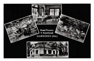 Ansichtkaart Garderen Hotel - Pension 't Puntdak Reclame HC1484