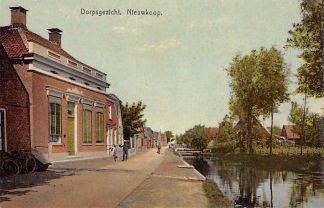 Ansichtkaart Nieuwkoop Dorpsgezicht 1911 Bodegraven HC153