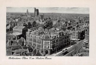 Ansichtkaart Rotterdam Plan C en Station Beurs Tram HC1536