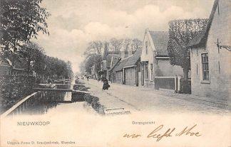 Ansichtkaart Nieuwkoop bij Bodegraven Dorpsgezicht 1904 HC155