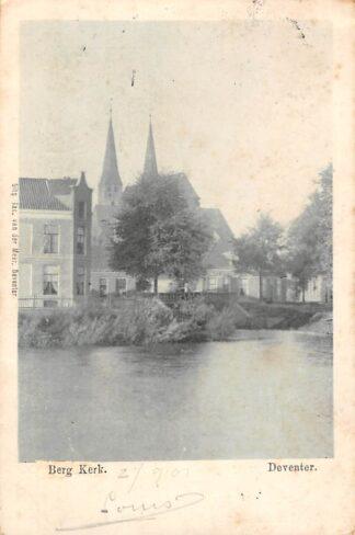 Ansichtkaart Deventer Berg Kerk Zeldzaam HC207
