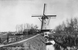 Ansichtkaart Gouda Molen Beneden - Haastrecht Hollandsch Molenlandschap HC220