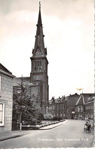Ansichtkaart Oudewater St. Franciscus Kerk 1960 HC265