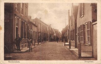 Ansichtkaart Werkendam Hoogstraat 1927 HC277