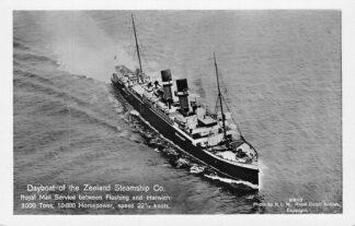 Ansichtkaart Vlissingen Dayboat Zeeland Steamship Co. Royal Mail Harwich KLM 6610 Scheepvaart Schepen HC280