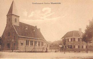Ansichtkaart Maastricht Gereformeerde Kerk HC281