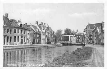 Ansichtkaart Maarssen Heren- en Schippersgracht 1959 HC298