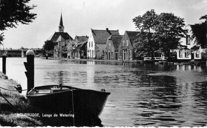 Ansichtkaart Woubrugge Langs de Wetering 1967 HC299