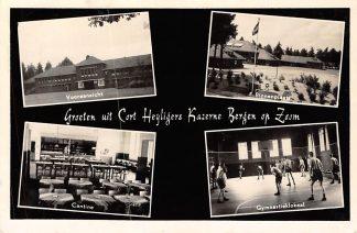 Ansichtkaart Kazerne Bergen op Zoom Cort Heijligers Kazerne Militair Soldaten HC300