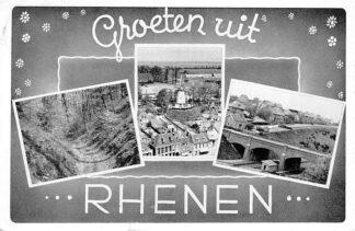 Ansichtkaart Rhenen Groeten uit Rhenen Molen 1956 HC303