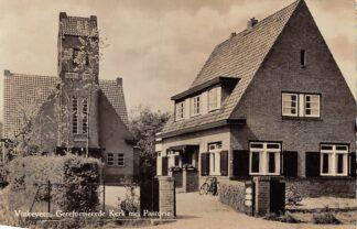 Ansichtkaart Vinkeveen Gereformeerde Kerk met Pastorie HC310