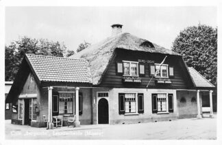 Ansichtkaart Maarn Café Bergzicht Leusderheide 1951 HC311