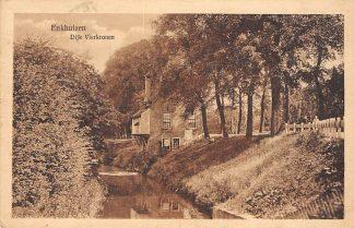 Ansichtkaart Enkhuizen Dijk Vierkronen 1923 HC334