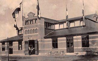 Ansichtkaart Aalten Groeten uit Aalten Feestgebouw 1912 HC337