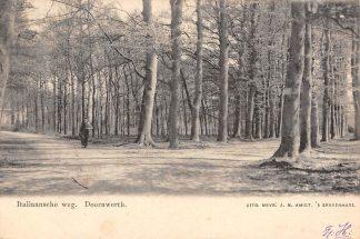 Ansichtkaart Doorwerth Italiaansche weg 1902 HC355