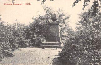 Ansichtkaart Ede Monument Paaschberg 1912 HC356