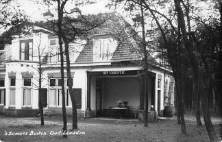 Ansichtkaart Oud - Leusden 's Zomers Buiten Het varentje Amersfoort Fotokaart 1927 HC383
