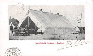 Ansichtkaart Harskamp Hospitaal Legerplaats 1904 Militair Soldaten HC385