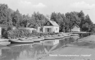 Ansichtkaart Reeuwijk Camping botenverhuur Vrijenhoef HC387