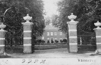 Ansichtkaart Ommen Landhuis Vilsteren Fotokaart 1901 HC401