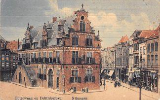 Ansichtkaart Nijmegen Boterwaag en Politiebureau 1914 HC406